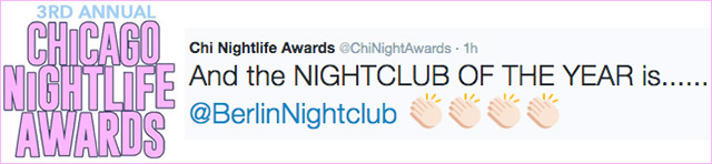 nighlife awards